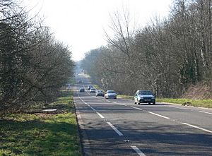 A47 Hinckley Road towards Earl Shilton - geograph.org.uk - 699791