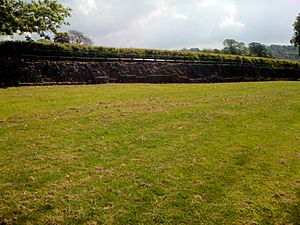 Caerleon-Roman Fortress Walls