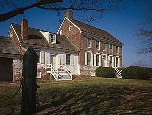 John Dickinson Mansion, Kitts Hummock Road, off State Road 68, 0.3 mile east of intersection with State Route 113, (Kent County, Delaware)