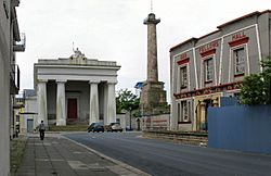 John Foulston's Town Hall, Column and Library in Devonport in 2008
