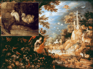 Landscape with Orpheus and the animals