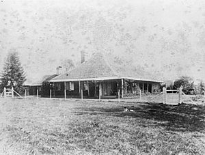StateLibQld 1 116908 View across the grass to Cressbrook Homestead, ca. 1887
