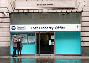 TfL lost property office on Baker Street - geograph.org.uk - 1404542