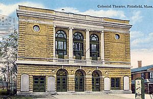 Colonial Theater 1918 postmark-2