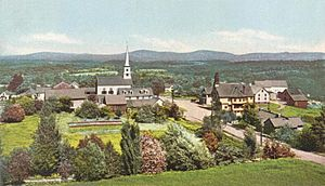 General View of Dublin, NH
