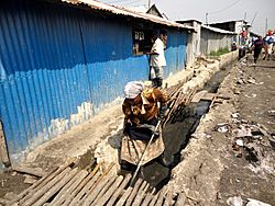 Oxfam East Africa - Clearing drainage ditches