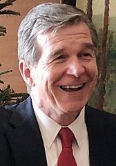 Roy Cooper at Governor's open house event (cropped)
