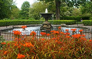 Fountain, Manor Park, SUTTON, Surrey, Greater London