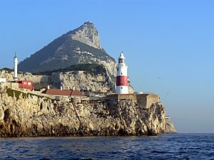 Gibraltar-Europa-Point-LH-from-the-sea