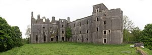 Kenmure Castle - composite view