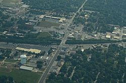 Aerial view of Raytown