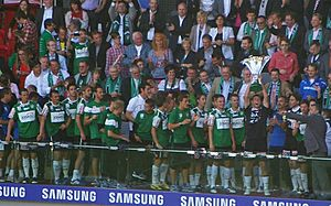 SV Ried Cupsieger 2011