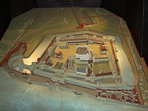 Scale Model Of The Tower Of London In The Tower Of London