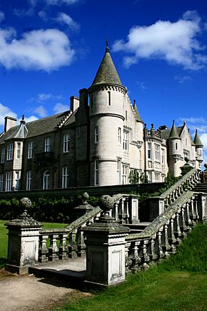 The Balmoral Castle, Scotland