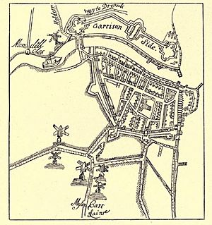 1668, Map of Hull, Joseph Osborne