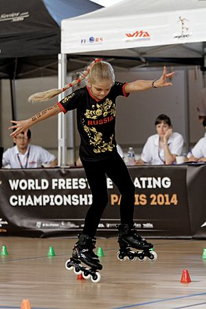 2014 World Freestyle Skating Championship - Sofia Bogdanova 15