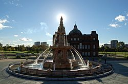 Doulton Fountain - Glasgow Green