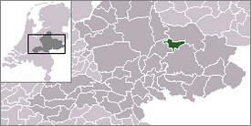 Location of Zutphen