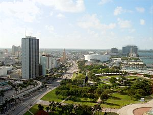 Miami-downtown-from-intercontinental-hotel
