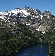 Thornton Peak and lake