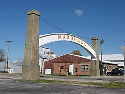 The Arch in the Town of Marshall