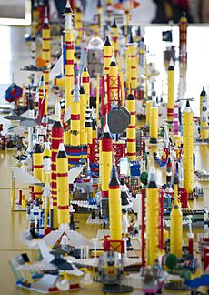 LEGO Building At KSC