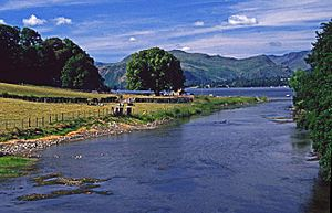 Looking towards Ullswater from Pooley Bridge - geograph.org.uk - 87782.jpg