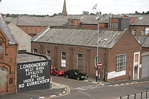 Nosurrender mural derry
