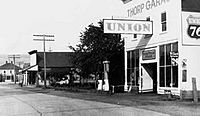 Thorp Garage, Thorp, Washington. 1935