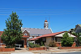 West Wyalong Houses & Church