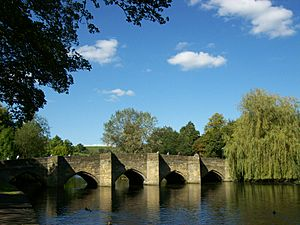 Bakewell, medieval bridge