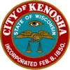 Official seal of Kenosha, Wisconsin