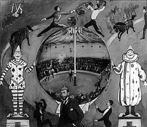 The Amateur Circus at Nutley by Peter Newall 1894