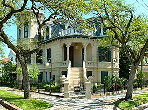 Trube Castle, Galveston
