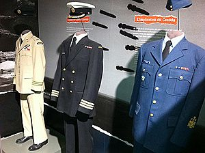 Canadian Armed Forces service uniforms