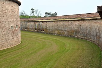 Fort Macon Moat