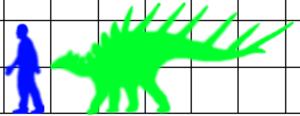 Kentrosaurus scale