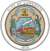 Official seal of Lawrence, Massachusetts