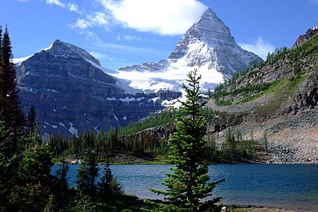 Mount Assiniboine Sunburst Lake