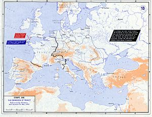 Strategic Situation of Europe 1803