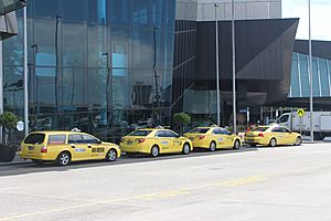 Taxicab rank Melbourne Convention and Exhibition Centre