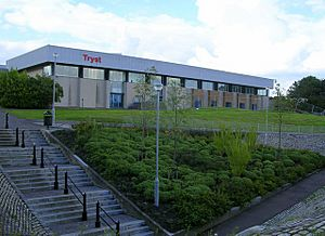 Tryst Sports Centre, Cumbernauld - geograph.org.uk - 221818