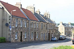 Typical 19th century houses in Cupar