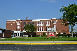 High school on State Route 330