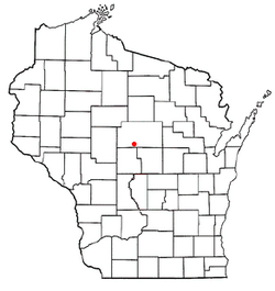 Location of Green Valley, Wisconsin