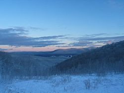 Berkshires in Winter