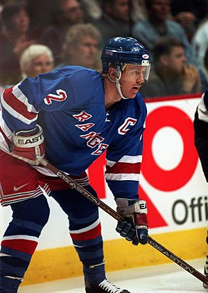 Brian Leetch New York Rangers 1997