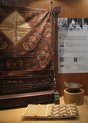 Indonesian Batik Display