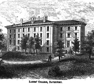 Ladies college 1856