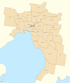 Melbourne divisions overview 2010